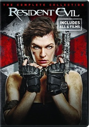 Resident Evil Six Film Collection